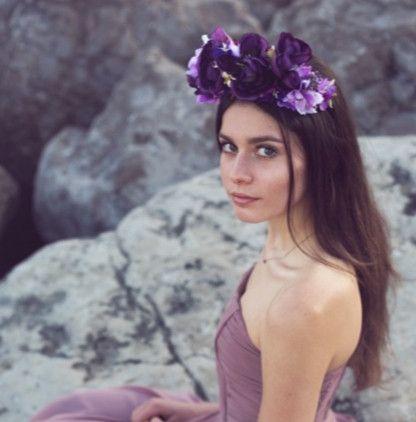 Headpieces & Fascinators - Opulente Blumenkrone **LUNA** in love again - #flowercrowns von www.lebenslust2in1.de @lebenslust2in1 - neue Kollektion im Onlineshop Fotografin Erika Zormann @luneetcorbeau Kleider von annaetter.com @annaetteroffical Modell Melanie Olivari  *** #mermaid #flowercrowns #headpiece #coachella #summerfashion #bohemian #bohostyle #festivaloutfit