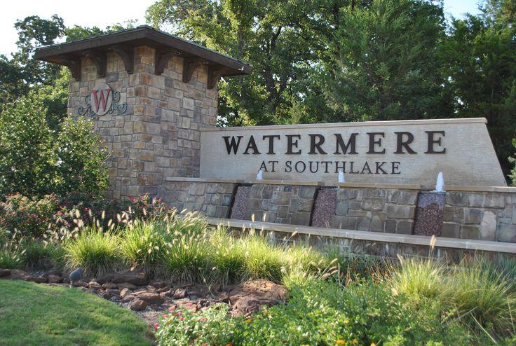 Stone Entrance Sign Monument Pinterest Plants Water