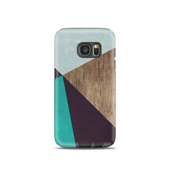 Coloured timber case