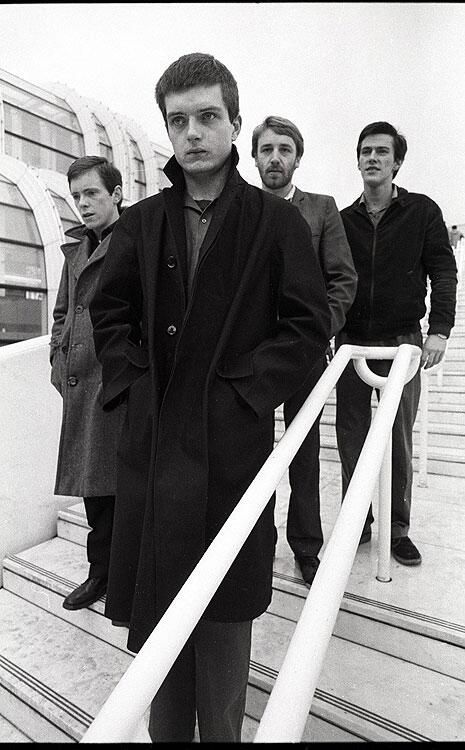Joy Division (Ian Curtis, Peter Hook, Stephen Morris & Bernard Sumner), Paris, December 1979