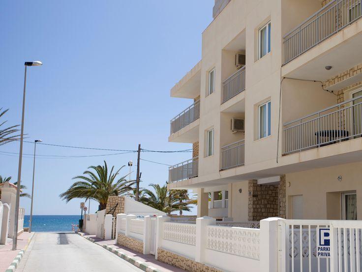 Appartement aan zee in Spanje.