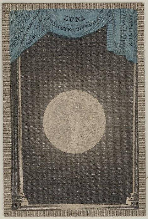 From 'Astronomia, Deck of Constellation and Planetary Cards', published London: 1829-31.