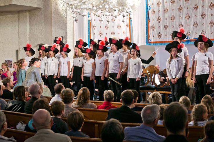 Kinderchor der Stadt Leipzig, Juni September, Foto: Gert Mothes