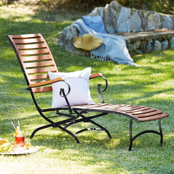 Outdoor Deckchair Bellagio Gartenstuhle Im Freien Gartenliege