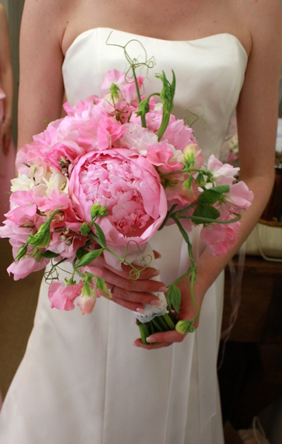 Pink Peony Wedding Bouquet By Signature Bloom