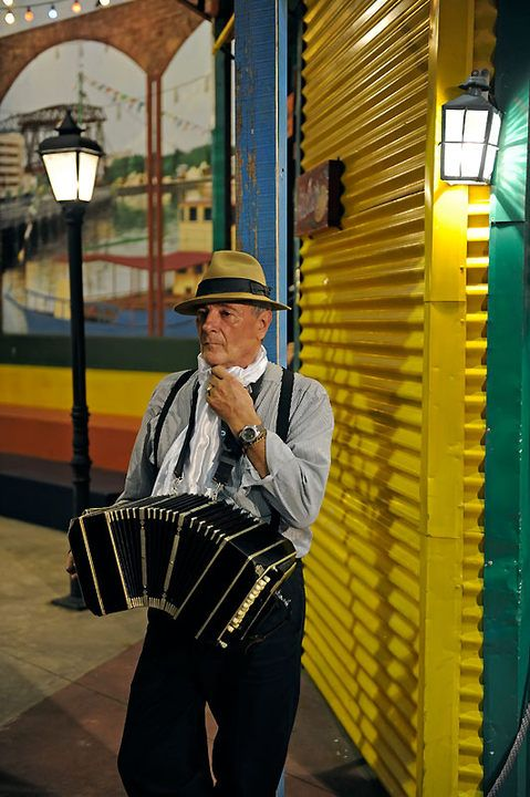 La Boca Tango, Buenos Aires. Argentina