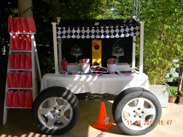 "Photo 2 of 35: Cars / Birthday ""Ferrari Party"" 