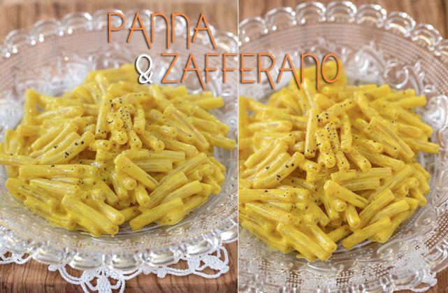 La Ricetta della Pasta Panna e Zafferano