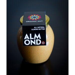 Миндальное масло Organic Nut Creamy, 400 грамм - Peanutbutter.kiev.ua