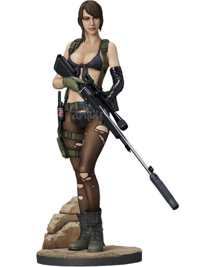 Boneco Quiet Metal Gear Solid Play Arts Kai Square Enix