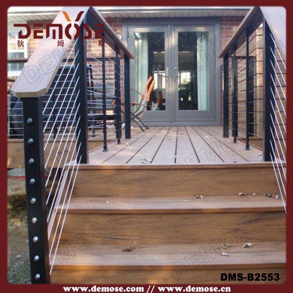 artistic patio railing designs/metal deck railing ideas