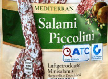 """Warnung: Salmonellen in Aldis Salami Piccolini gefunden https://www.discountfan.de/artikel/c_verbraucherschutz/warnung-salmonellen-in-aldis-salami-piccolini-gefunden.php Der Discounter Aldi-Nord hat einen Produktrückruf für seine """"Casa Morando Salami Piccolini – QS, 100 g"""" gestartet. Man habe Salmonellen nachweisen können, das Produkt sei vollständig aus dem Verkauf genommen worden. Warnung: Salmonellen in Aldis Salami Piccolini gefunden (Bild:... #Rückr"""