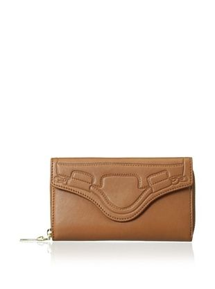 63% OFF Foley + Corinna Women's City Flap Continental Wallet, Whiskey