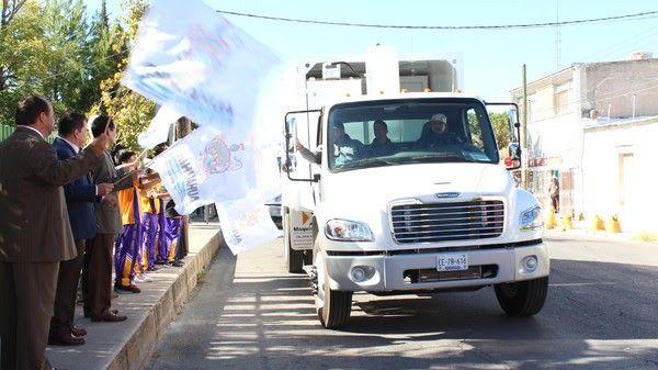Pone en marcha Gobierno Municipal 5 nuevos camiones recolectores | El Puntero