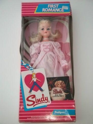 VINTAGE PEDIGREE SINDY DOLL FIRST ROMANCE MINT IN BOX 69.99+6.75