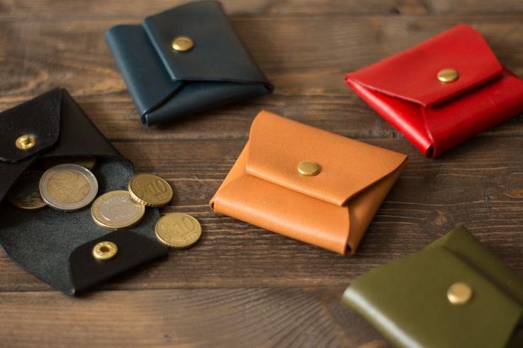Stico Coin Case小さなコインケース | 革小物のDURAM FACTORY