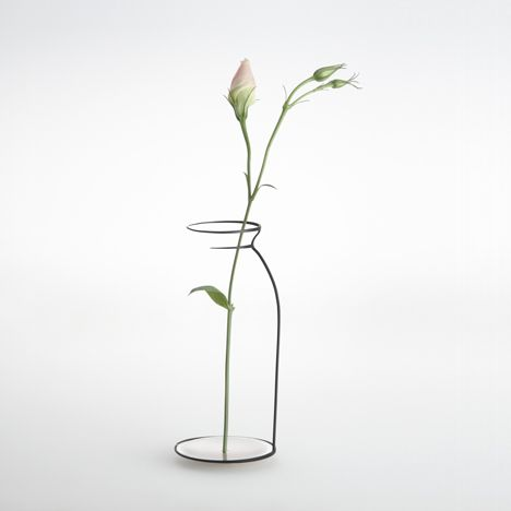 Interieur 2012: objects that seem like half-finished sketches of candle holders, vases, bowls and bottles won British designer Maya Selway second prize in the Object category of the Interieur Design Awards at the Interieur design biennale in Kortrijk, Belgium, last week