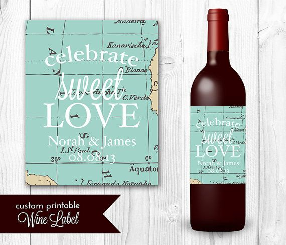 Best 25 Personalized Wine Labels Ideas On Pinterest: 25+ Best Ideas About Wedding Wine Labels On Pinterest