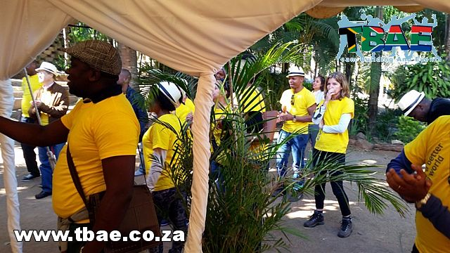Ernst & Young Mozambique Movie Making, Murder Mystery and Wacky Wet Weird and Wonderful Team Building Nelspruit