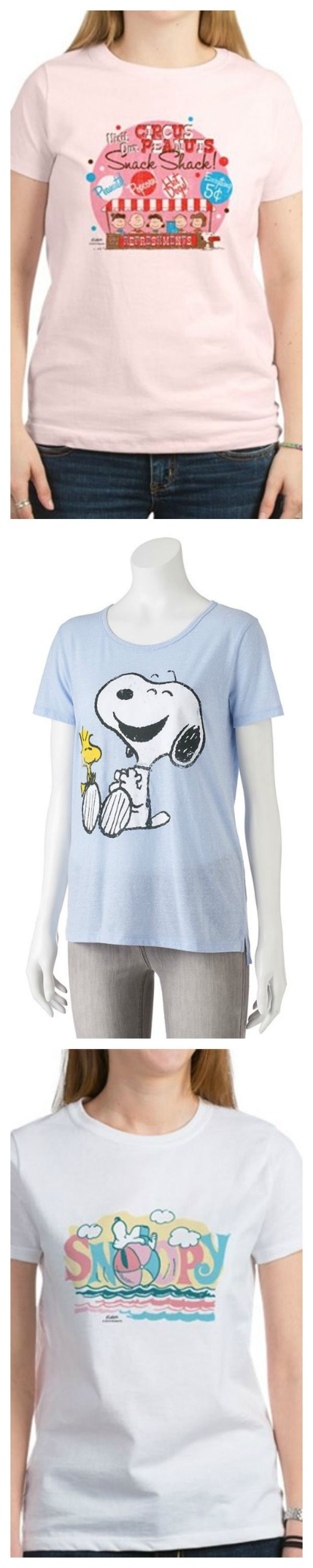 Peanuts clothing store