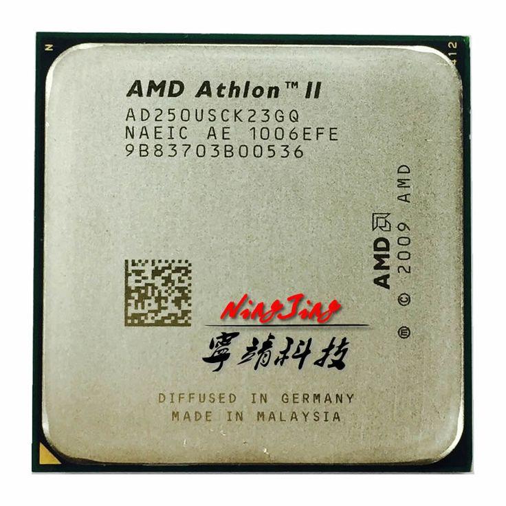 Amd athlon ii x2 250u 1.6 ghz dual-core cpu processeur ad250usck23gq socket am3