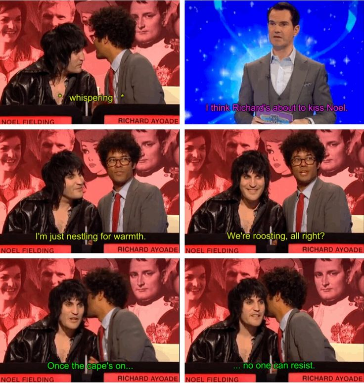 The Big Fat Quiz, Noel Fielding and Richard Ayoade