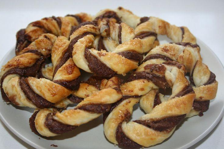 in cucina con Francy: ciambelline di pasta sfoglia con nutella