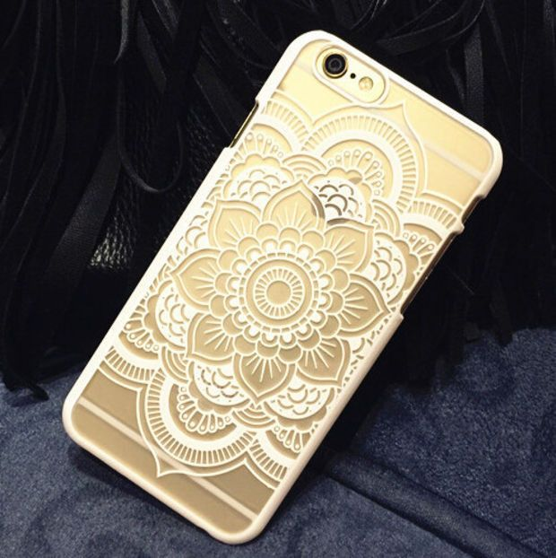 Hollow Out Lace Case Cover for iphone 5se 5s 6 6s Plus iphone 7