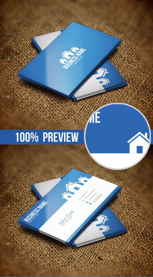 40 Creative Real Estate And Construction Business Cards Designs 14