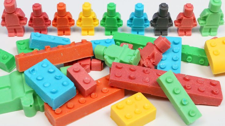 How to Make CHOCOLATE LEGO Pieces Fun & Easy DIY Make Your Own Chocolate...