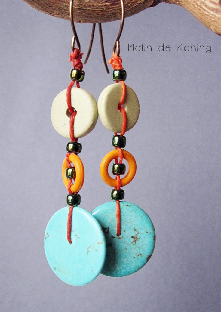 Earrings by Malin de Koning. Stacked Earrings Challenge #4.