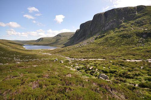 Dubh Loch and Creag an Dubh Loch