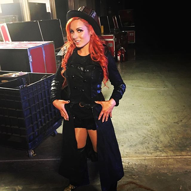 @beckylynchwwe knows what she wants to leave with Sunday at #WWEBacklash!!! #Gold #SDLive