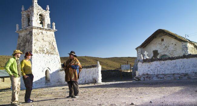 Iglesias del altiplano, una ruta llena de historia y tradición. turismonacional.cl La Ruta de las Misiones, es una invitación a conocer el extraordinario patrimonio cultural de la precordillera de la Región de Arica y Parinacota.