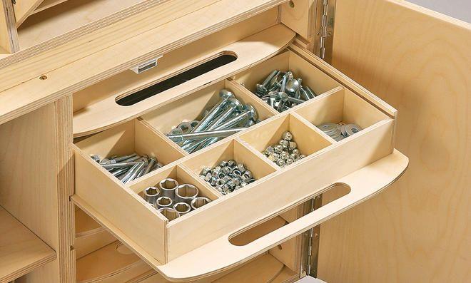 Werkzeugkoffer: Details