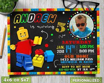 lego invitation, lego invitations birthday, lego invite, Lego invitation photo, lego invitation with picture, lego birthday, lego thank you
