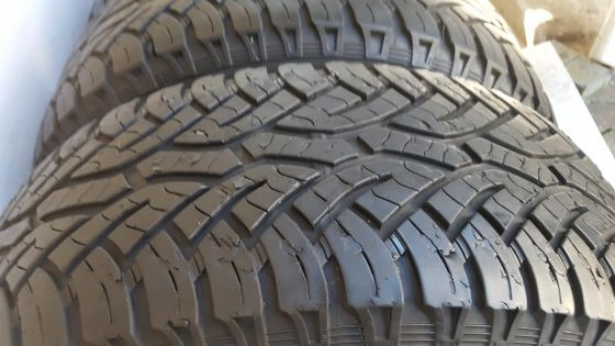 Set 80% Tread 265/65/17 Continental Cross Contact All Terrain Tyres Fits Hilux Fortuner Ranger Navar | Central | Tyres and Wheels | 66179072 | Junk Mail Classifieds