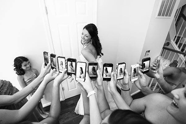 21 Insanely Fun Wedding Ideas - Instead of settling for just one angle, find your best side!