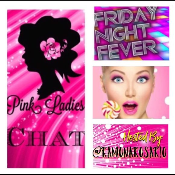 CHAT 4🌃🌙FRIDAY NIGHT FEVER🌙🌃 🌙FRIDAY FEVER NIGHT is the night to sell your top 5 FAVORITE items.Move your top 5 FAVORITE items to the top of your closet for others to Share ONCE. & share 5 items from each closet signed up.The more ladies signed up the more exposure your items will get.You Have from 9p.m(cst) Until 2a.m(CST) to complete Your Shares,Please invite your pff to join us every friday.This Share Group Will Raise the chance of making a Sale, More Followers, and More Likes.🌺ALL…