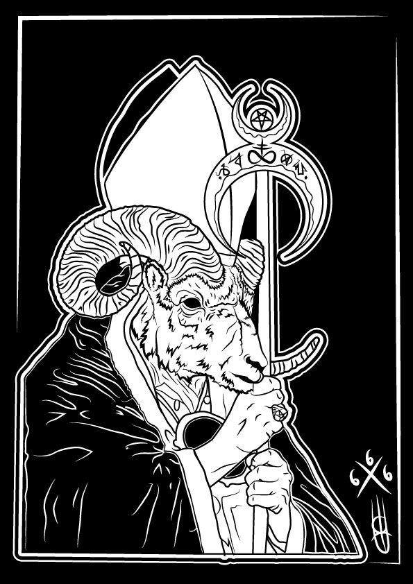 G O A T 6 6 6 Illustrazione di Edoardo Perazzini