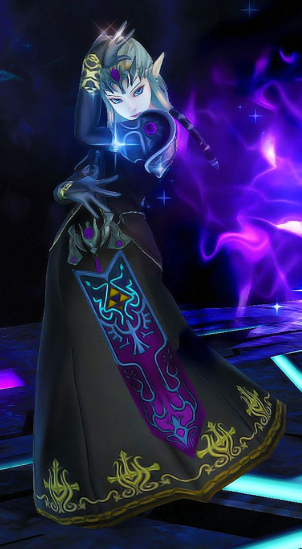 Dark Zelda from Super Smash Bros