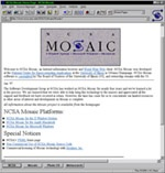 Mosaic: The first modern web browser at the heart of the early days of the web. Mosaic 3.0 Screenshot