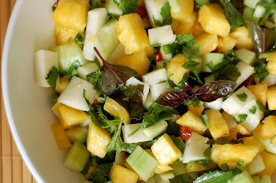 Pineapple and Jicama Salad | Veggie Friendly Food and Bev | Pinterest ...