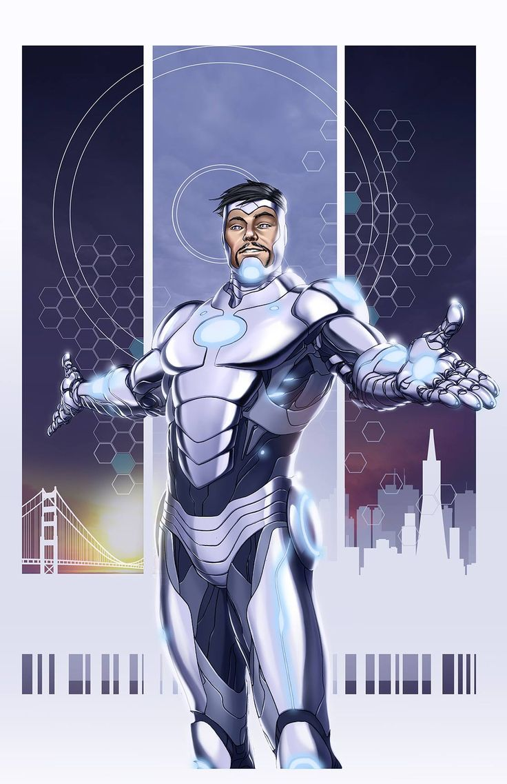 Superior Iron Man #1 (verion 2) by Mike Choi *