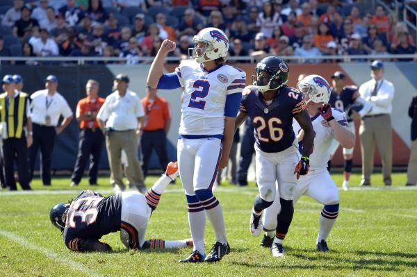 The Buffalo Bills released kicker Dan Carpenter on Monday in a move that will save the team $2.4 million in salary cap space.