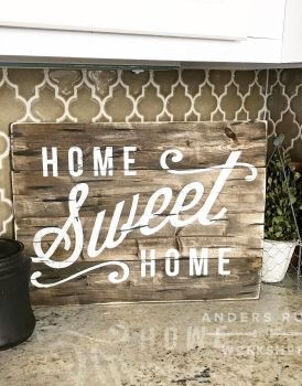 Wooden Signs For Home Decor Simple 44 Best Custom Wood Plank Signs Home Decor Images On Pinterest Inspiration
