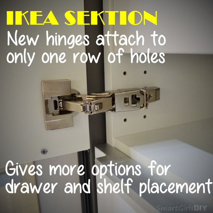 IKEA SEKTION New Smaller Hinges The Plan Pinterest New Kitchen First D