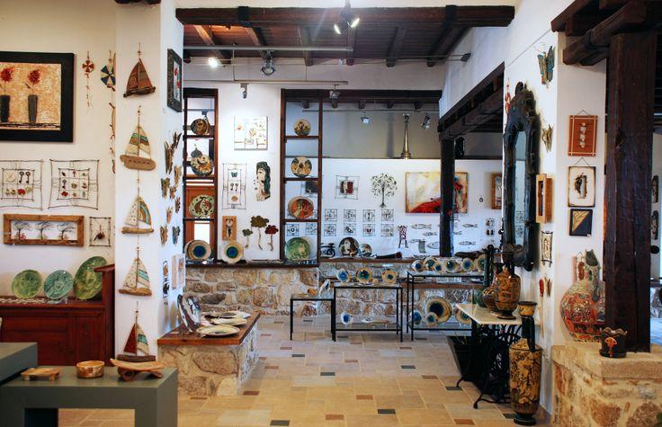 #Artistic Village Contemporary Art #Rhodes #Greece #handmade #gallery #original #unique #interior
