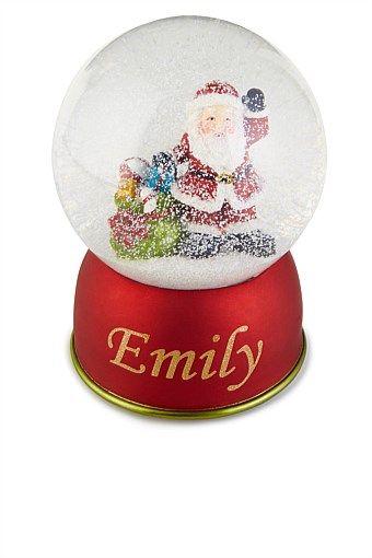 Personalised Gifts - Personalised Snow Globe - EziBuy Australia