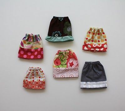 Easy Barbie® Skirt! (Plus if you click on the tutorial link, there's lots of other Barbie clothes! Yay!)